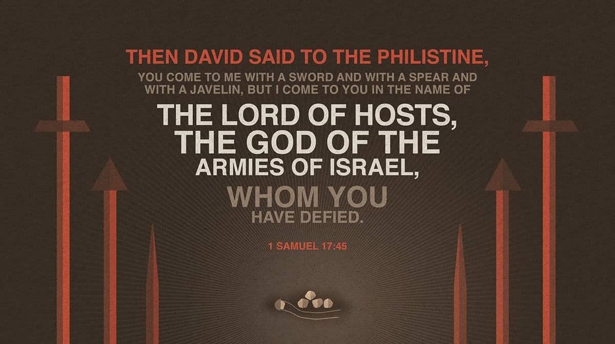1 Samuel 17:45