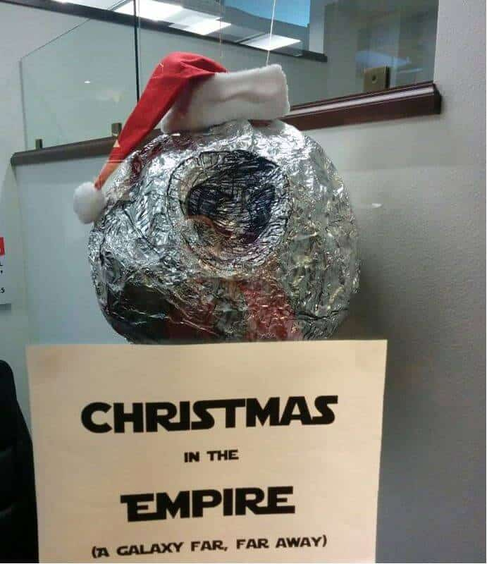 aluminum foil Death Star