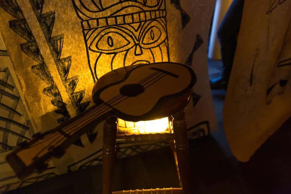 paper guitar